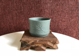 Tea cup - bamboo leaf - Tian Qing 70ml 56x42_