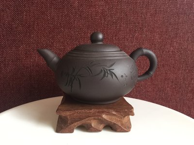 Teapot - Lao Zi bamboo leaves