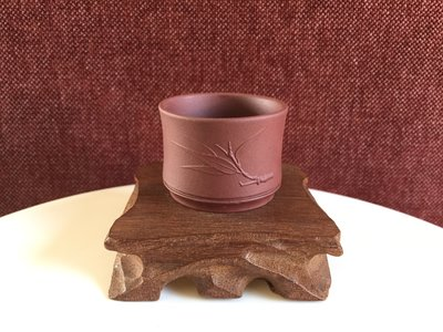 Tea cup - bamboo leaf - Zi Ni 70ml 56x42
