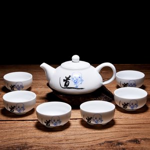 "Tea set for 6 - ""Dao"" little monk"