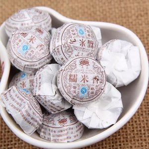 Ripe Pu'er tea - sticky rice flavor tuo